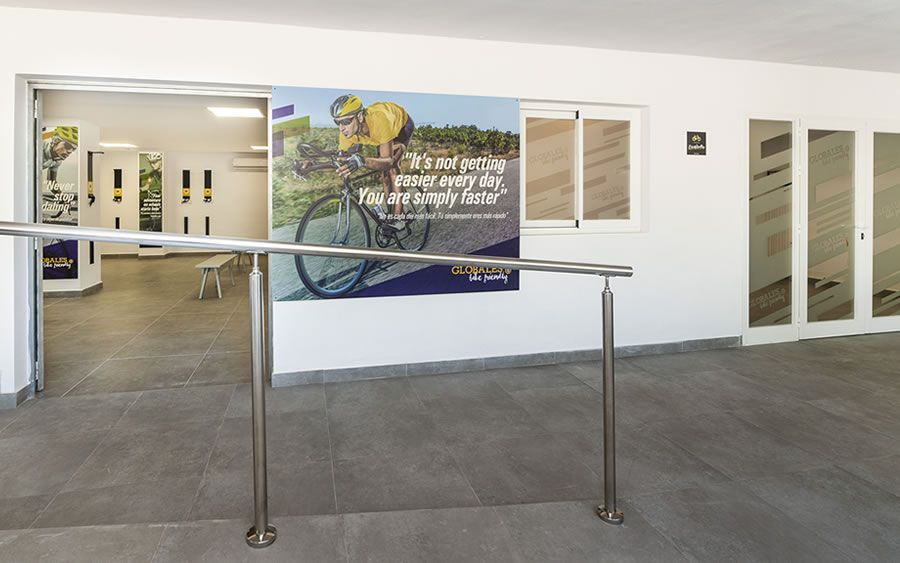 Globales Mimosa - local bike friendly