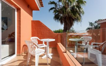 Globales Costa Tropical - terraza