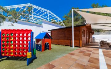 Globales Aptos. Montemar - kids club exterior