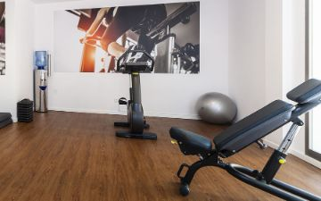 Globales Mimosa - local bike friendly gimnasio