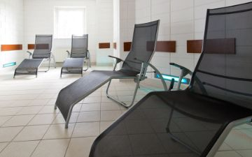 hoteles globales post & wellness sauna