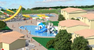 Globales Apartotel Bouganvilla will become a stunning Splash World