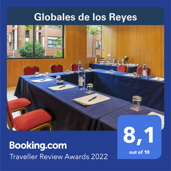 Globales de Los Reyes - Booking Awards