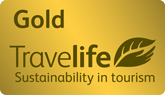 Gold Travelife Sustainability in tourism