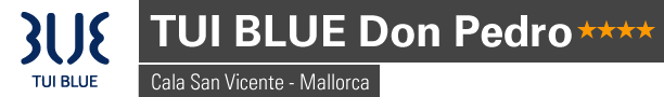 Logo Tui Blue Don Pedro