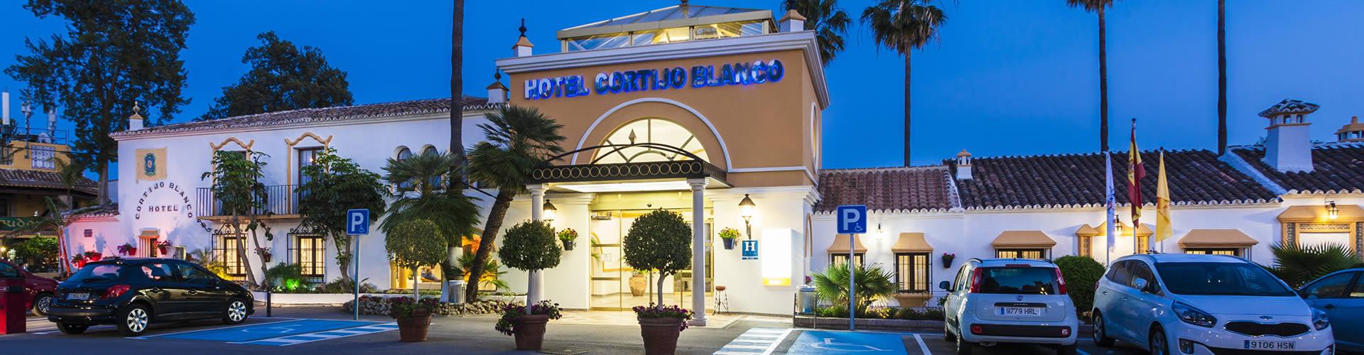 Globales cortijo blanco hotel in marbella hoteles globales for Blanco hotel