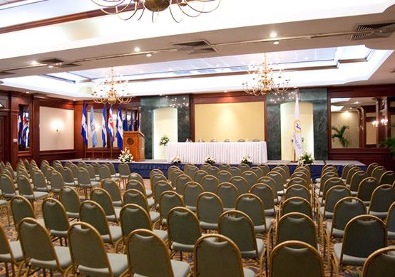 Globales Camino Real - sala conferencias